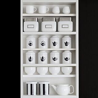 キッチン/ブログ更新しました/mon・o・tone/お茶缶/収納...などのインテリア実例 - 2014-04-05 21:26:11