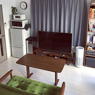 男性一人暮らし1K、TVボードに関するotappi02さんの実例写真