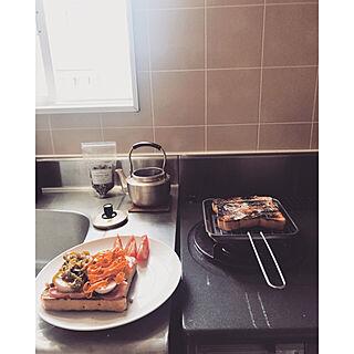 女性26歳の一人暮らし1K、サンドウィッチに関するkkc8さんの実例写真