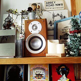 音楽/おうち時間を楽しむ/木の家/季節を感じる暮らし/I ❤display...などのインテリア実例 - 2016-12-19 08:56:42