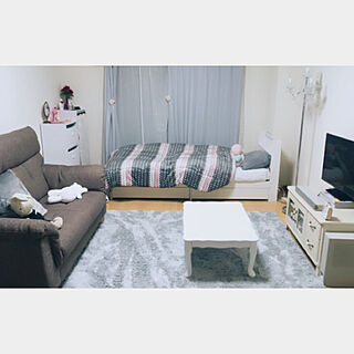 女性一人暮らし1K、大人女子部屋に関するmisaさんの実例写真