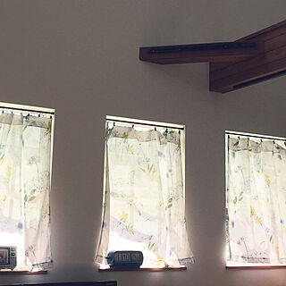 梁/こそうじ/ハンドメイド/レースカーテン/壁/天井のインテリア実例 - 2019-05-08 13:35:09