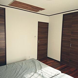 ベッド周り/寝室/ベッドルーム/8畳/小屋裏...などのインテリア実例 - 2018-12-05 10:32:44