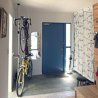 スウェーデン木製断熱玄関ドアの人気の写真(RoomNo.830238)