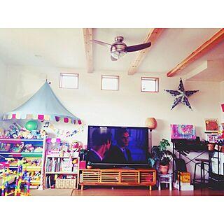 部屋全体/ごちゃごちゃ( •́ɞ•̀)/キッズスペース/IKEAのインテリア実例 - 2014-11-11 17:40:40