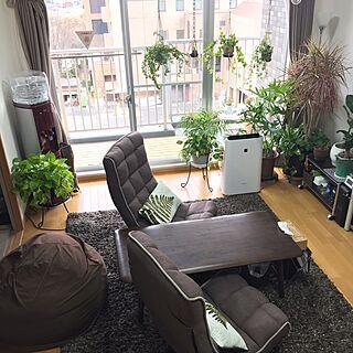 女性57歳の家族暮らし3LDK、つる性植物に関するMICHIYOさんの実例写真