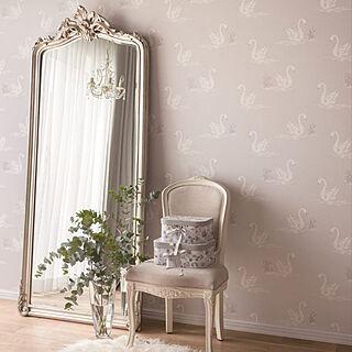 壁紙 LW2525 壁紙 壁紙 クロス フラワー調 DIY 国産壁紙/ フラワー調 リリカラ製
