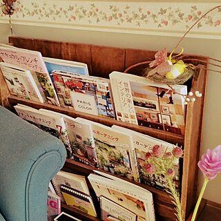 女性57歳の、BOOKスタンドに関するYumiさんの実例写真