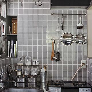 カフェ風/カフェ風インテリア/DIY/キッチン収納/神戸...などのインテリア実例 - 2019-10-08 18:50:26