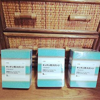 女性家族暮らし3LDK、日用品に関するmoriiicoさんの実例写真