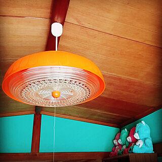 女性32歳の同棲2LDK、照明器具に関するchiaaさんの実例写真