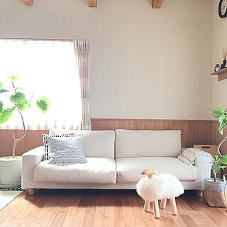 女性46歳の家族暮らし4LDK、ウンベラータ♡に関するsorasoraさんの実例写真