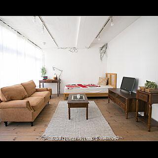 部屋全体/ナチュラル/木製/ブラウン/男前家具...などのインテリア実例 - 2019-07-30 16:28:58