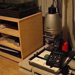 男性33歳のシェア1DK、darkroomに関するKazumaさんの実例写真
