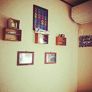 女性40歳の家族暮らし3LDK、長男部屋に関するmofukoさんの実例写真