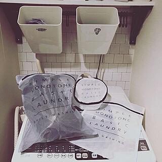 ランドリーネット収納/新商品買ったよ!/キャンドゥ☆/Instagram→yu.a.0406/洗濯ネット...などのインテリア実例 - 2019-11-05 18:08:57