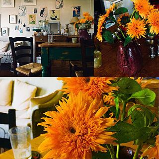 アンティーク雑貨/アンティーク家具/プロヴァンス風/雑貨/観葉植物...などのインテリア実例 - 2020-02-16 10:29:05
