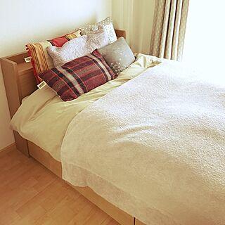 36歳の1LDK、関家具ベッドに関するenさんの実例写真