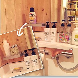 女性家族暮らし3LDK、入浴剤ボトルに関するonsix777さんの実例写真