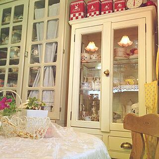 女性49歳の家族暮らし、フリルガラスに関するyumicyanさんの実例写真