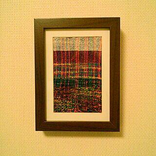 壁/天井/さをり織のインテリア実例 - 2013-09-02 21:59:33