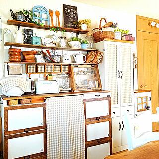 キッチンカウンターDIYの人気の写真(RoomNo.2877112)