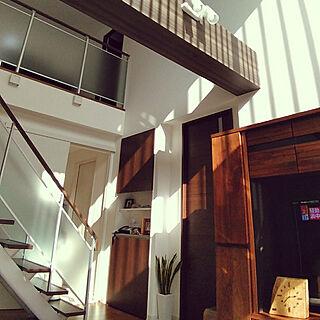 壁/天井/bj/セキスイハイム/吹抜け/リビング階段のインテリア実例 - 2019-02-01 14:39:37