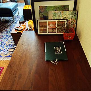BC工房/アートのある暮らし/アートのある部屋/机のインテリア実例 - 2020-04-30 17:51:55