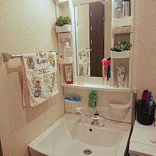 洗面台/洗顔フォームカバー/バス/トイレのインテリア実例 - 2018-03-16 10:14:27