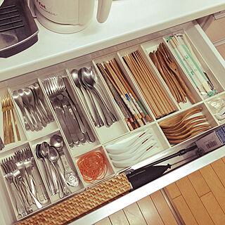 女性50歳の家族暮らし4LDK、キッチンに関するma.miさんの実例写真