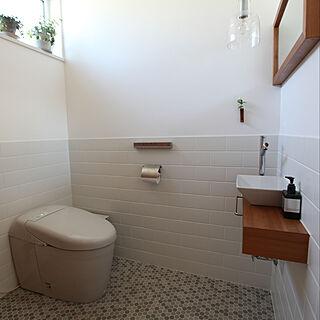 女性家族暮らし2LDK、TOTOトイレに関するRiriさんの実例写真