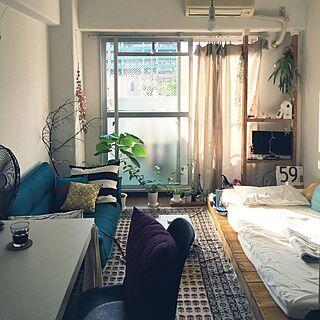 女性26歳の一人暮らし1R、ソファベットに関するpojjm5さんの実例写真