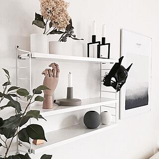 4LDK、家族住まいの「棚」についてのインテリア実例