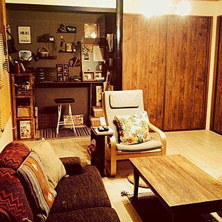 部屋全体/DIY/男前も可愛いも好き/和室を改造/床の間...などのインテリア実例 - 2014-06-20 20:59:41