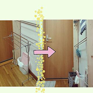棚/狭い洗面所の収納/ラブリコのインテリア実例 - 2018-02-18 11:43:35