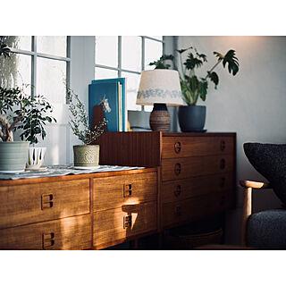 KITONO/ウプサラエクビー/デンマーク家具/北欧ヴィンテージ家具/北欧ヴィンテージ/スウェーデンのフラワーポット...などのインテリア実例 - 2018-01-27 13:50:49