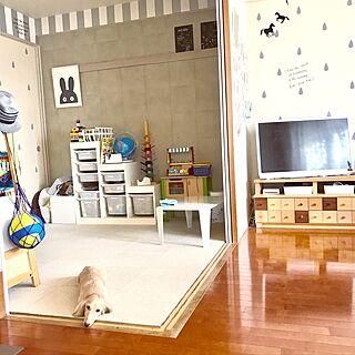 部屋全体/和室を洋室に /マンションの和室/和室/ビスコット...などのインテリア実例 - 2017-06-06 14:18:45