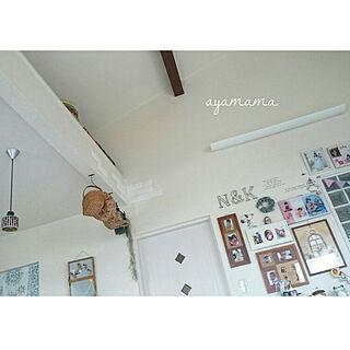 女性30歳の家族暮らし3LDK、娘写真に関するayamamaさんの実例写真