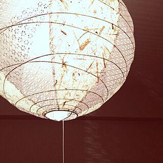 壁/天井/照明/和室 照明のインテリア実例 - 2014-02-16 17:28:10