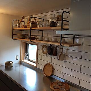女性30歳のその他2LDK、DIY 飾り棚に関するtreehouseさんの実例写真