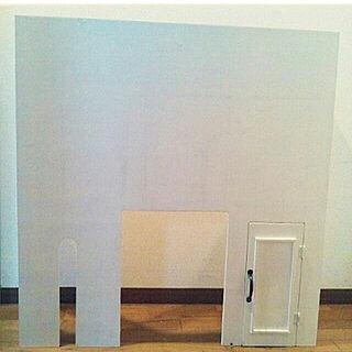 壁/天井/DIY/●主人のDIY●/タンクレス DIY/板→カインズホーム...などのインテリア実例 - 2018-05-24 21:12:53