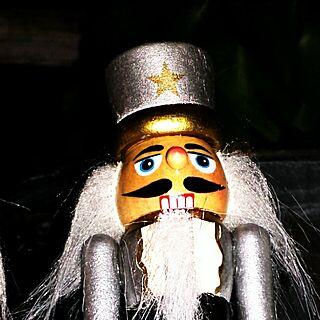 女性44歳の家族暮らし3LDK、くるみ割り人形に関するShinobuさんの実例写真