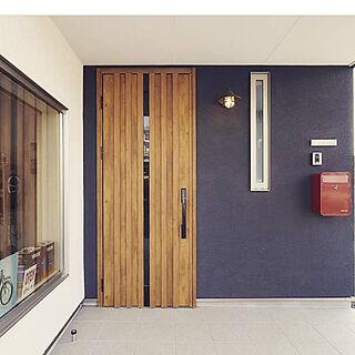 玄関/入り口/ドア/暮らしを楽しむ/家づくり/平屋のガレージハウス...などのインテリア実例 - 2019-05-11 21:01:23