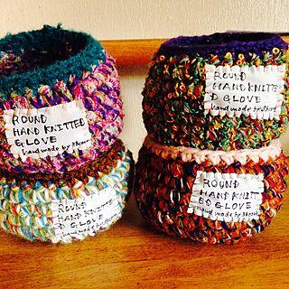 女性家族暮らし4LDK、編み物入れに関する38coreさんの実例写真