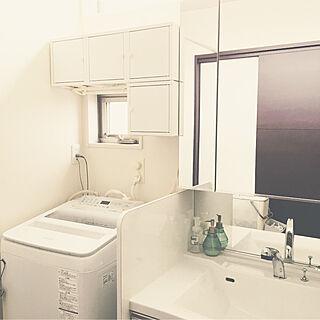 バス/トイレ/スチールキャビネット/IKEA/イケア/洗面所収納...などのインテリア実例 - 2018-05-30 11:26:35