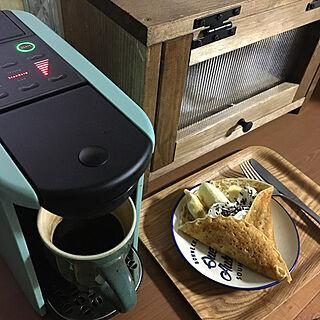 リビング/コーヒーメーカー/コーヒータイム/カフェコーナー/クレープ...などのインテリア実例 - 2020-03-14 19:05:25
