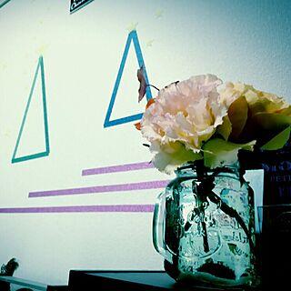 女性32歳の同棲2LDK、花瓶が欲しいに関するmisachanさんの実例写真