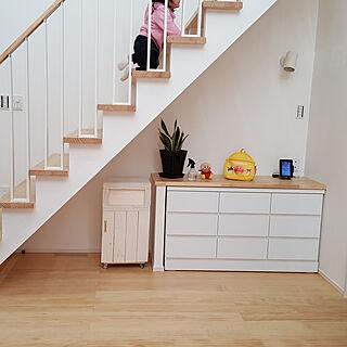 部屋全体/暮らしの一コマ/3LDK/シンプル/リビング階段...などのインテリア実例 - 2018-03-14 18:48:47