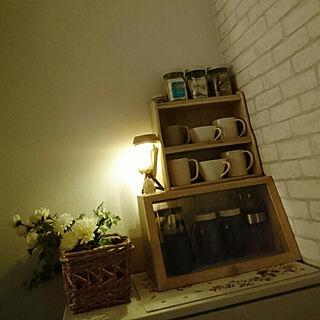 棚/お茶セット/デカフェ/カフェインレス/紅茶...などのインテリア実例 - 2021-02-01 21:20:39