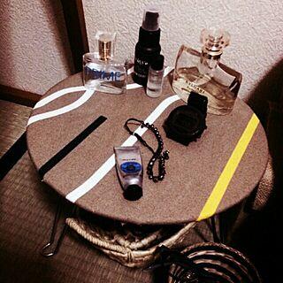 机/和室/寝室/IKEAテキスタイル/LUSHのインテリア実例 - 2014-01-14 22:05:46